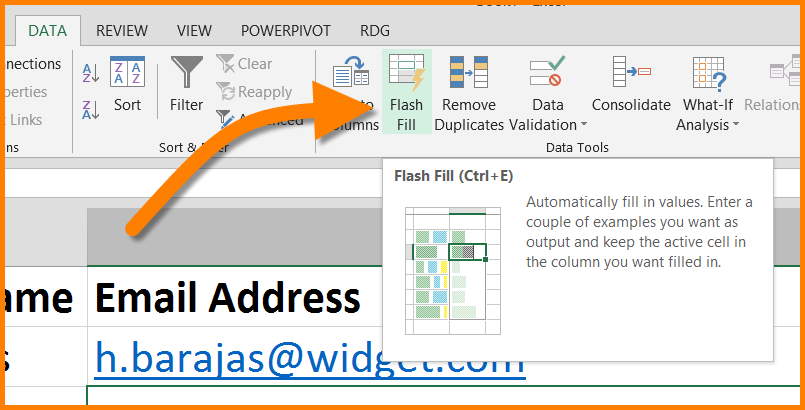 Excel - Convert Names to Email Addresses | SkillForge