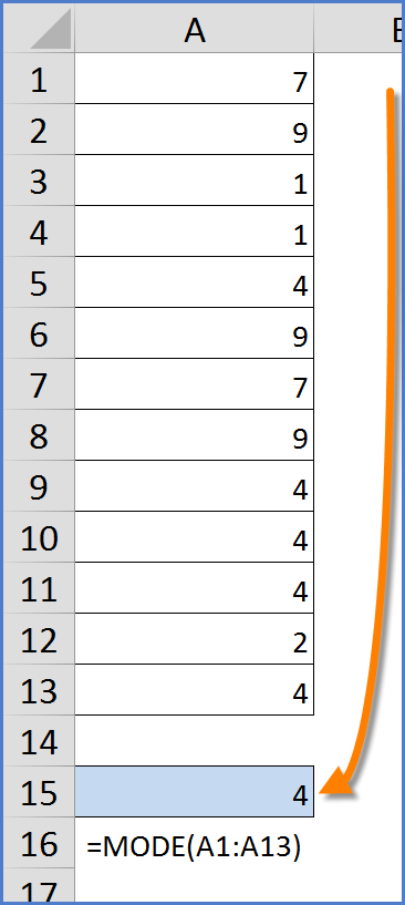 how to return text in excel