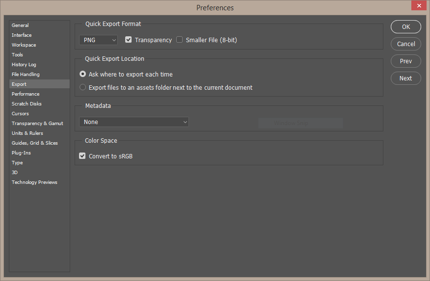 photoshop-export-preferences