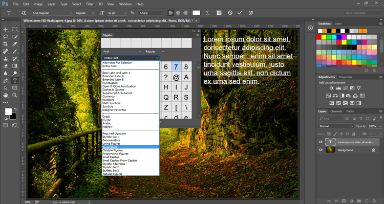 Creating Fractions, Adobe Photoshop CC 2015 1 | SkillForge