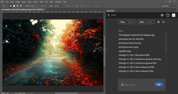 photoshop-recents-from-open