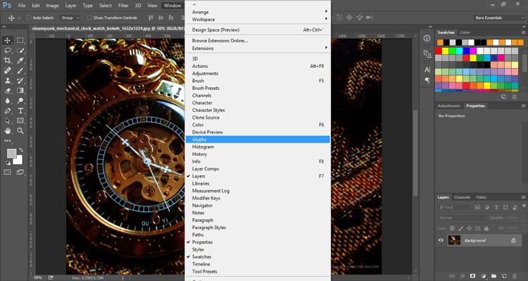 photoshop-windows-glyphs