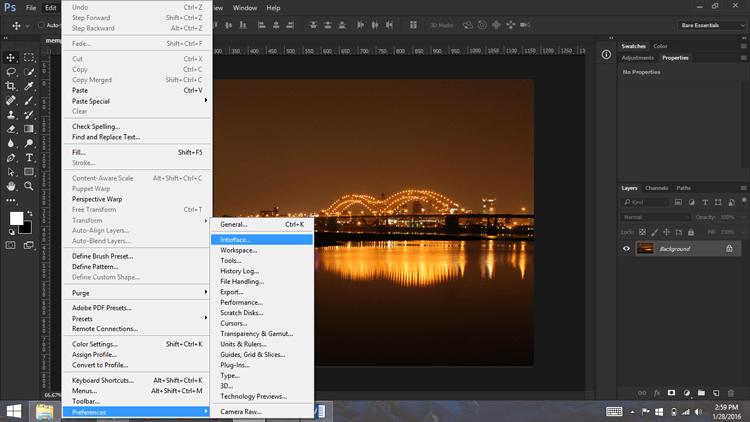edit-preferences-interface