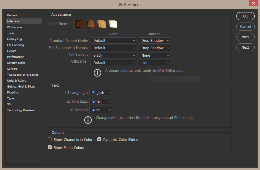 Photoshop Interface Easter Egg Skillforge