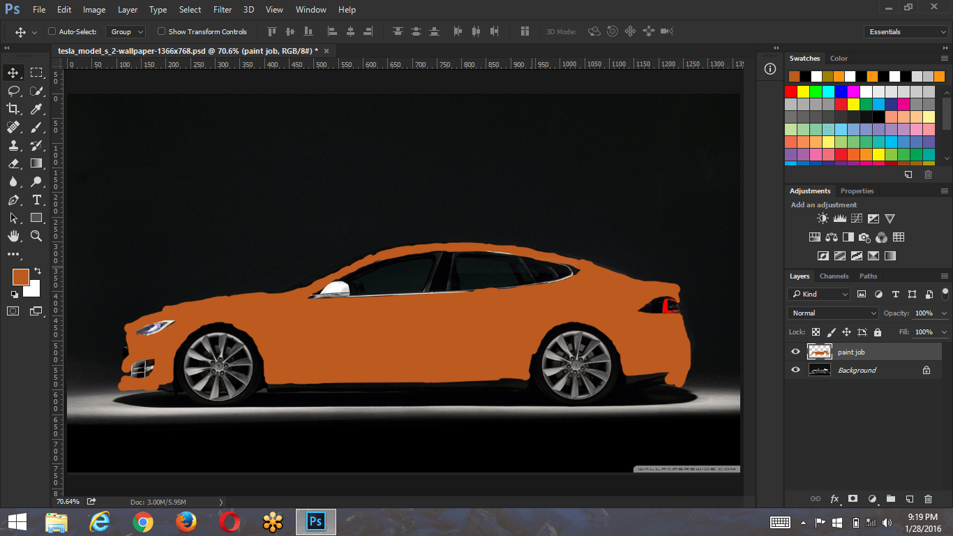 tesla-color-layer