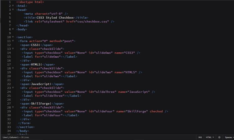 styled-checkbox-code