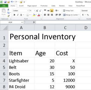 Access vs Excel 1