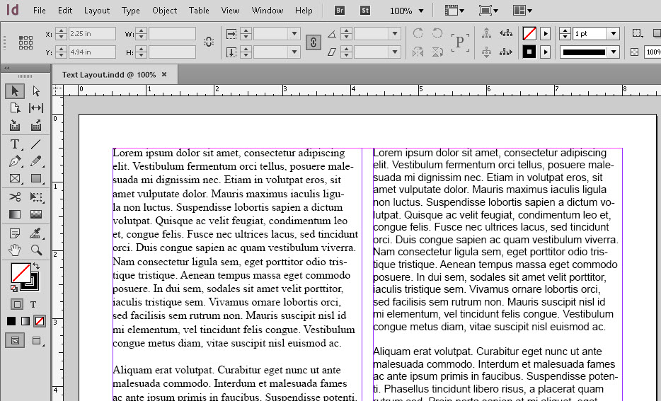 Adobe InDesign Text Layout Tips | SkillForge