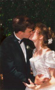 Dusty Wedding Pic