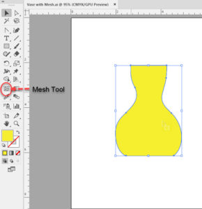 Shape before mesh