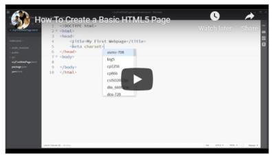 createBasicHTMLPage