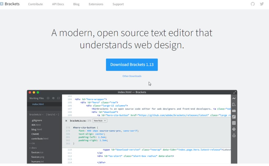 brackets-text-editor | SkillForge