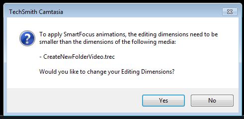 camtasia smartfocus error