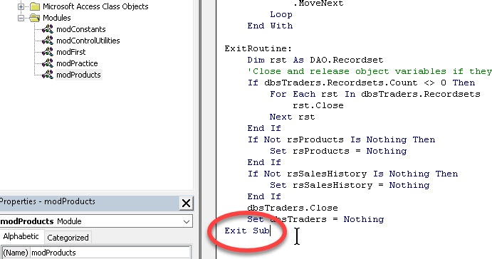 How to Build an Error Handler in Access VBA | SkillForge