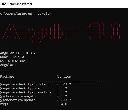 Angular CLI Version