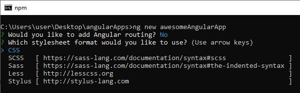 Angular Routing CSS